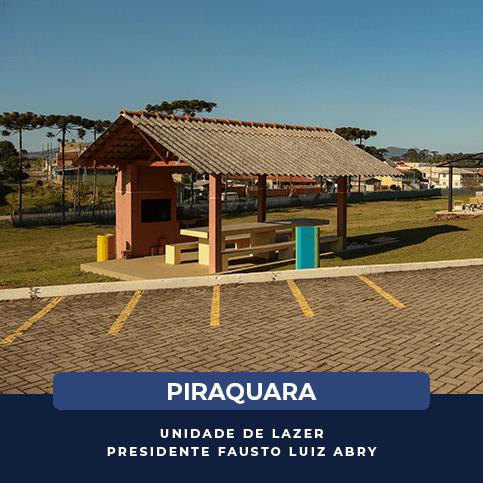 Piraquara - Unidade de Lazer - PRESIDENTE FAUSTO LUIZ ABRY